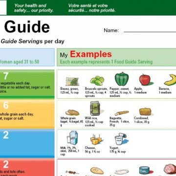Canada food guide to get major overhaul