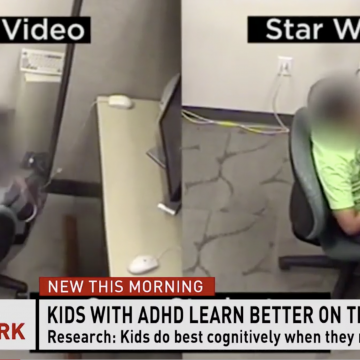 Children with ADHD move twice as much when learning, brain tests show