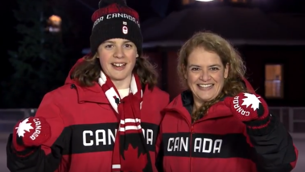 Gov. Gen. Julie Payette encourages Canadians to 'get active' in New Year's message