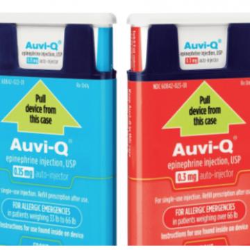 Un produit de remplacement plus cher que l'EpiPen