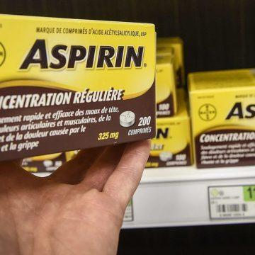 Aspirine: aucun effet bénéfique chez les aînés en bonne santé