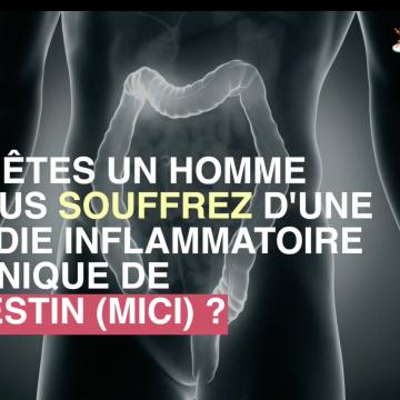 Une maladie inflammatoire de l'intestin multiplierait par 5 le risque de cancer de la prostate