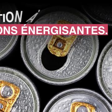 Les boissons énergisantes responsables de troubles du rythme cardiaque ?
