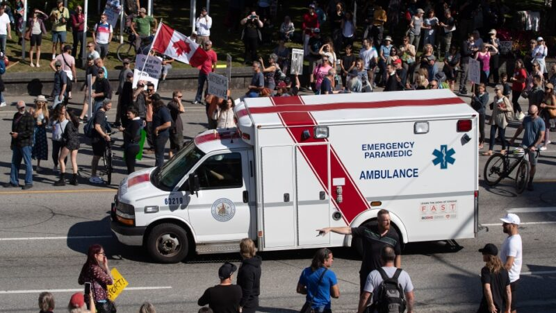 Medical groups decry protesters' 'bullying, attacks' against health-care workers