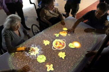 'Magic table' uses technology and active play to help people with dementia